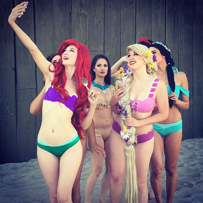 Bikinis inspirados en princesas Disney