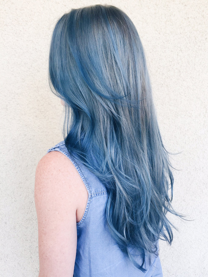 Tendencia denim hair