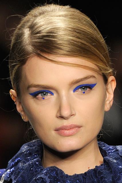 Tendencia dot eyeliner