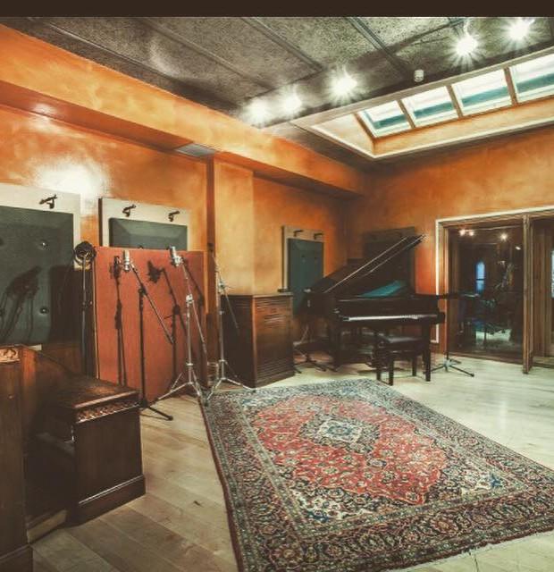 El estudio de grabación de Niall Horan