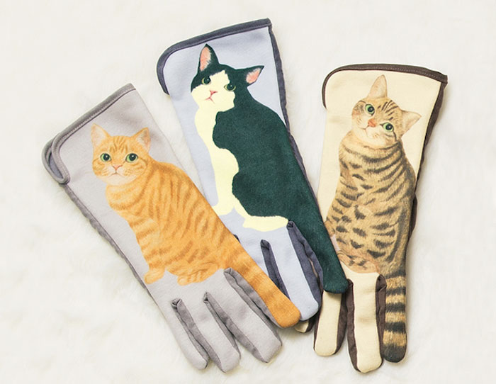 Guantes de gato para móviles