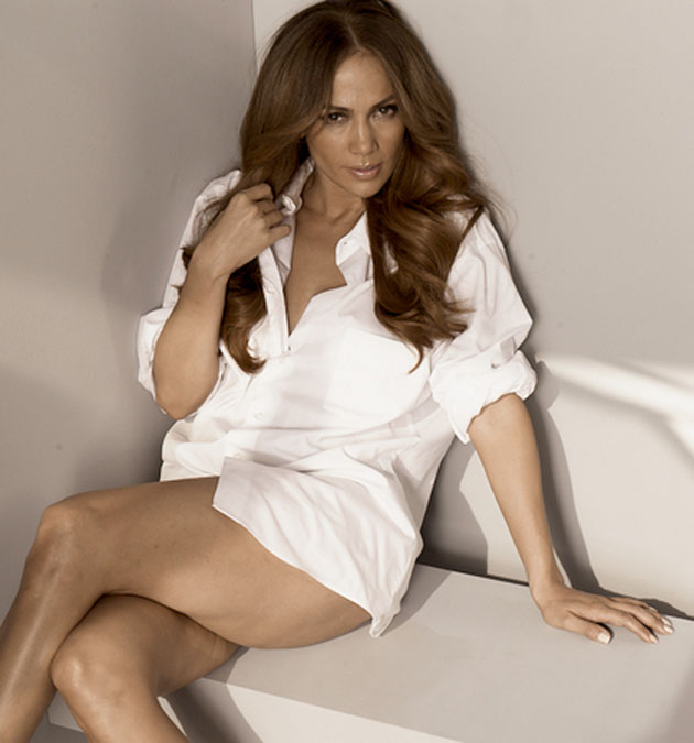 Fotos de Jennifer Lopez sin Photoshop
