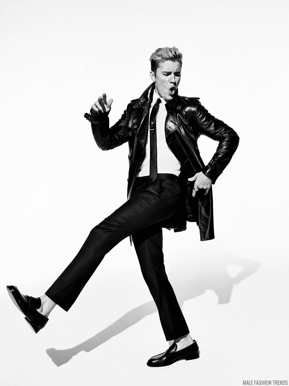 Justin Bieber para la revista GQ