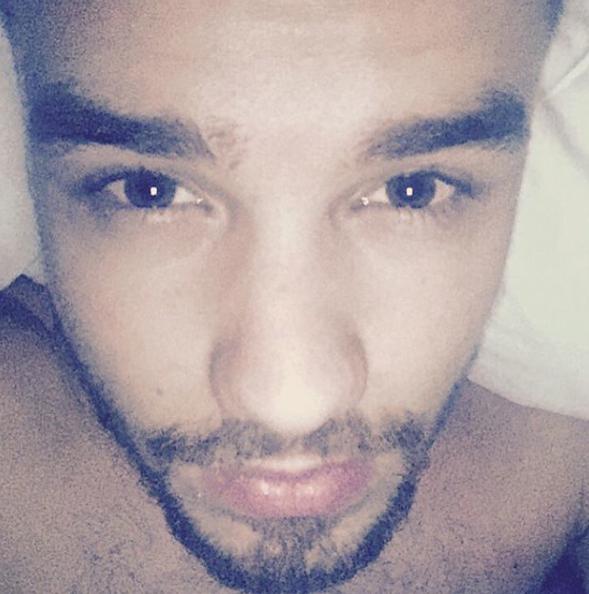 Liam Payne desnudo en Instagram