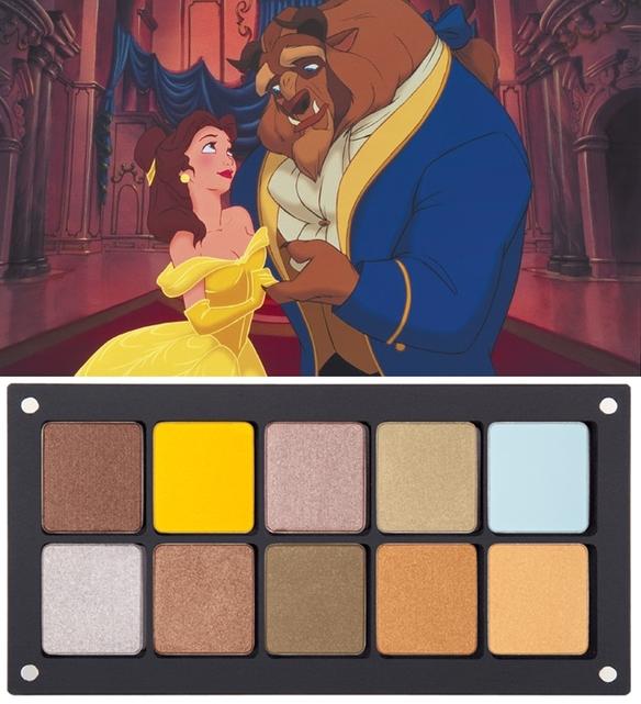 Paletas de maquillaje inspiradas en princesas Disney