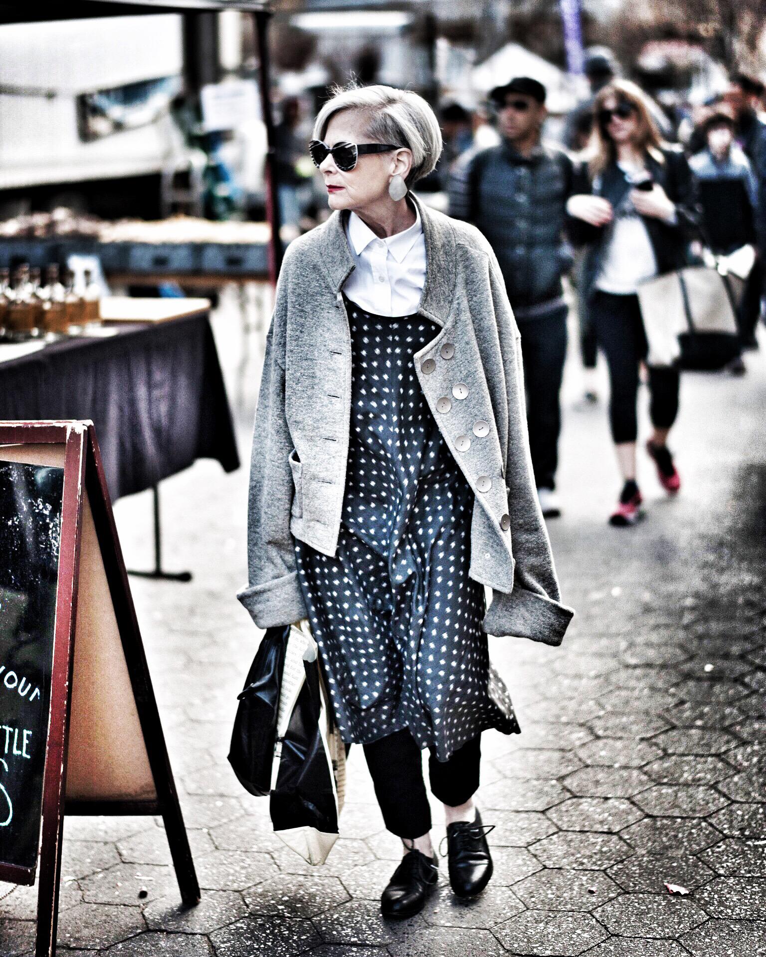 Lyn Slater, icono de la moda por accidente