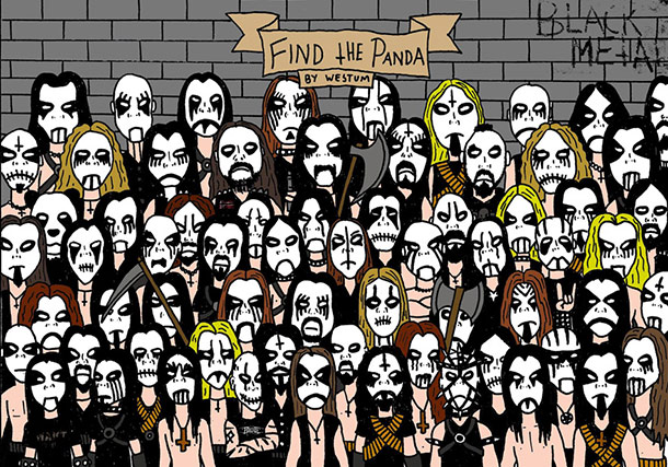 Reto visual del panda