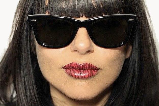 Tatuajes temporales para los labios