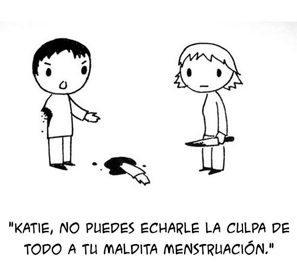 Viñetas sobre la menstruación
