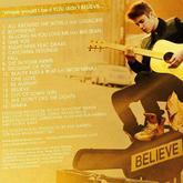 Justin Bieber publica la lista oficial de canciones de su álbum 'Believe'