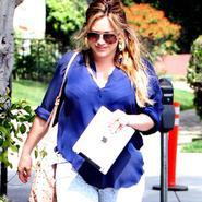 Así lucía Hilary Duff al llegar a casa tras el parto