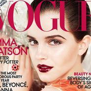 Emma Watson convertida en toda una mujer en la revista Vogue