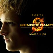 """Josh Hutcherson y Liam Hemsworth en """"Los juegos del hambre"""""""