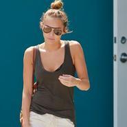 Miley Cyrus sigue adelgazando en el gimnasio