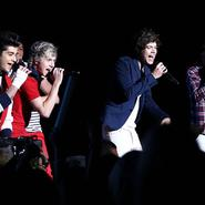 Concierto de los One Direction en Vegas
