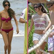 Selena Gomez, en bikini