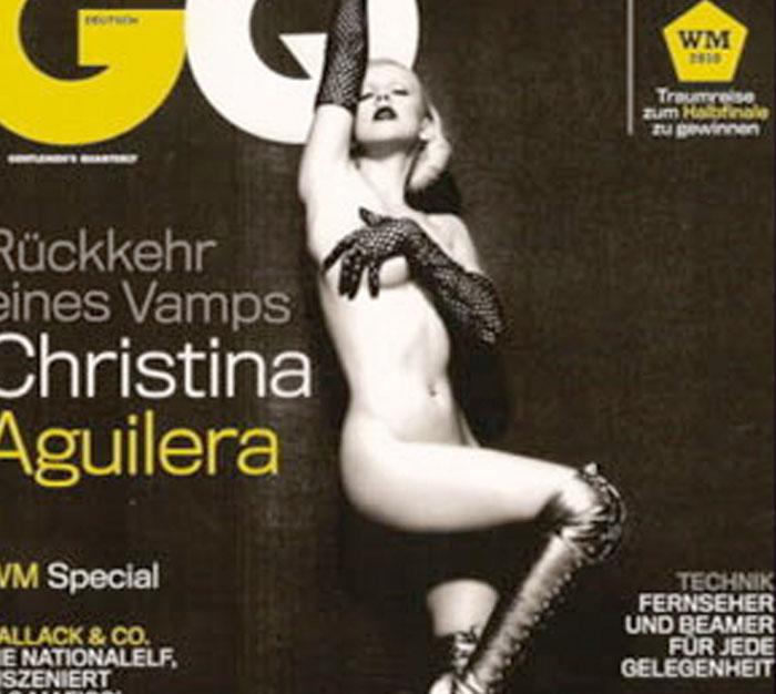 LOOKS: Christina Aguilera desnuda en GQ