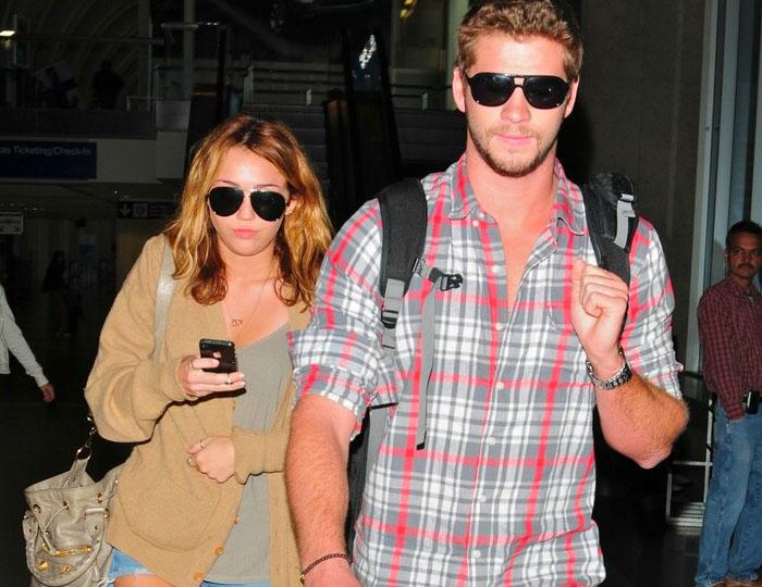 Miley Cyrus está enganchada a su novio
