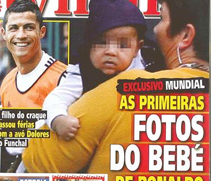Las fotos del hijo de Cristiano Ronaldo