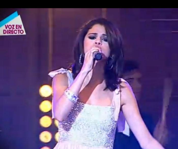 Selena Gómez triunfa en la televisión española