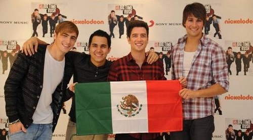 Big Time Rush: Disco de Oro en México
