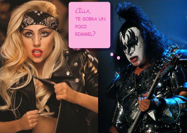 Kiss quieren tocar con Lady Gaga: ¿quién llevará más maquillaje en el escenario?