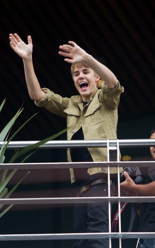 Fotos: Justin Bieber en México DF