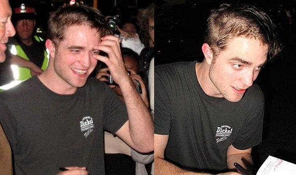 El nuevo look de Robert Pattinson