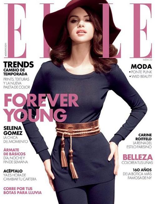 Selena Gómez en revista Elle México