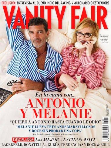 Antonio Banderas, haznos un huequito en tu cama como a Vanity Fair