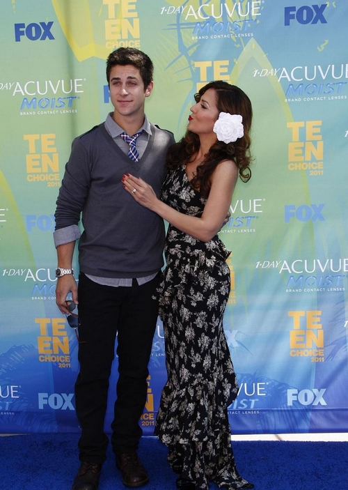 David Henrie & Maria Canals-Barrera: Teen Choice 2011
