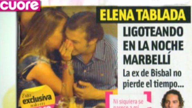 Pero... ¿qué hace Elena Tablada? ¿a quién le toca así la naricita?