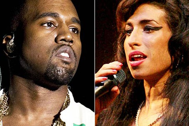 Kanye West homenajea a Amy Winehouse