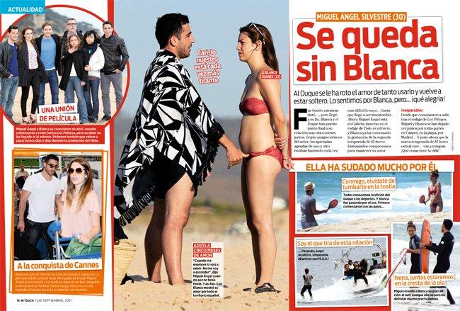 ¿Se habrán oído nuestras súplicas y Miguel Ángel Silvestre se nos ha quedado sin Blanca?