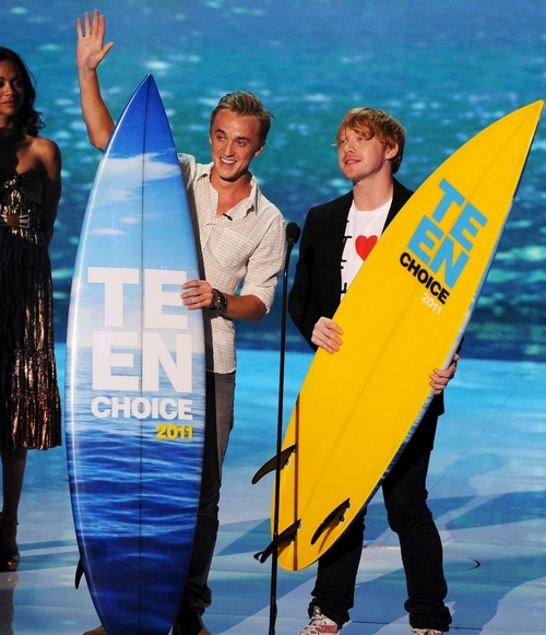 Tom Felton y Rupert Grint: Teen Choice Awards 2011