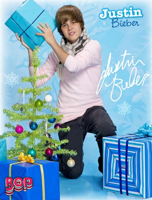 Justin Bieber prepara álbum de Navidad