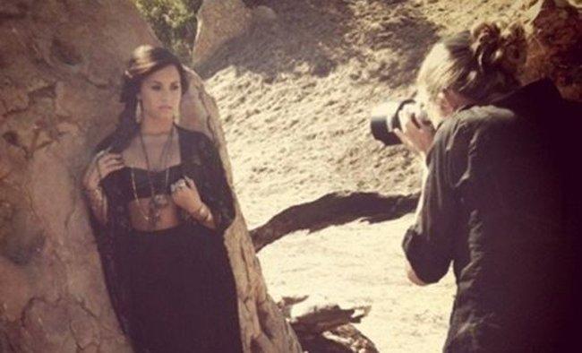 ¡Ya tenemos imágenes del nuevo álbum de Demi Lovato!