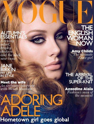 A la única que parece no importarle si Adele está gorda o no... es a la propia Adele