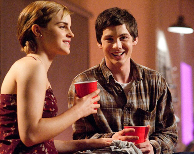 Logan Lerman y Emma Watson en más imágenes de 'The Perks of Being A Wallflower'