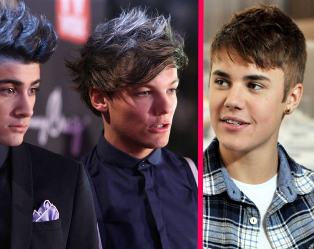 One Direction VS. Justin Bieber