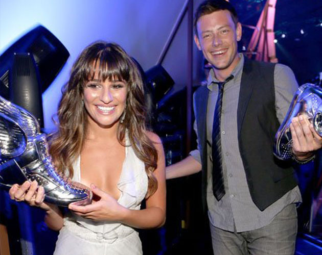 Lea Michele y Cory Monteith en los Premios Do Something 2012