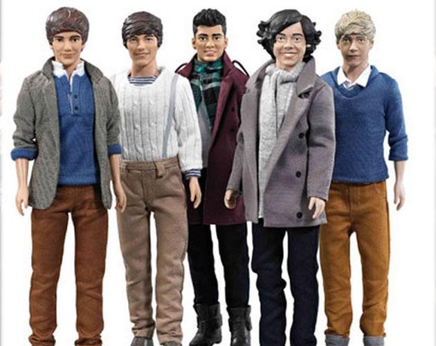 Los muñecos de One Direction saldrán en Navidad