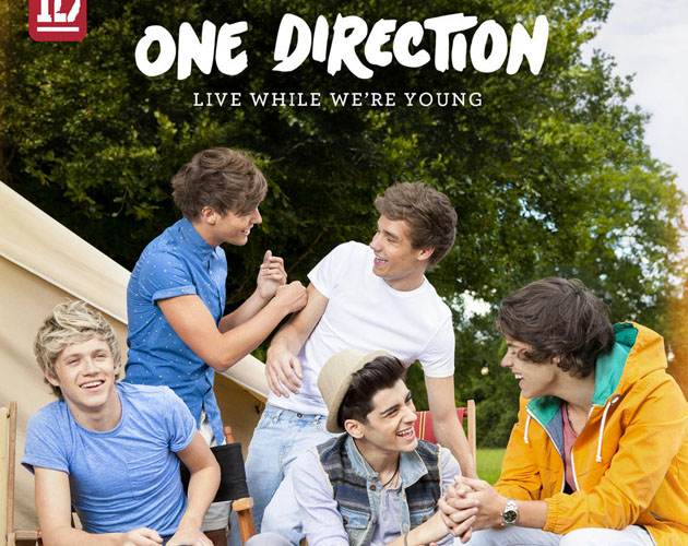 Nueva portada para el single de One Direction 'Live While We're Young'