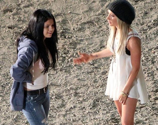 Selena Gómez se une a Ashley Tisdale en el rodaje de 'Getaway'