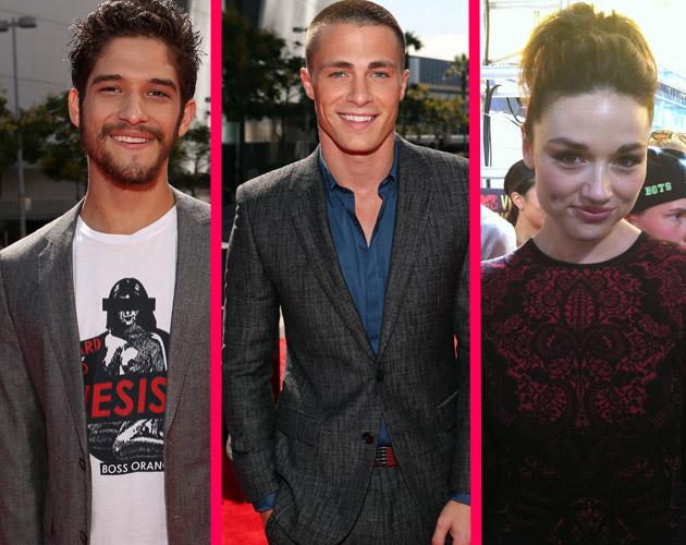El reparto de 'Teen Wolf' al completo en los MTV VMAs 2012