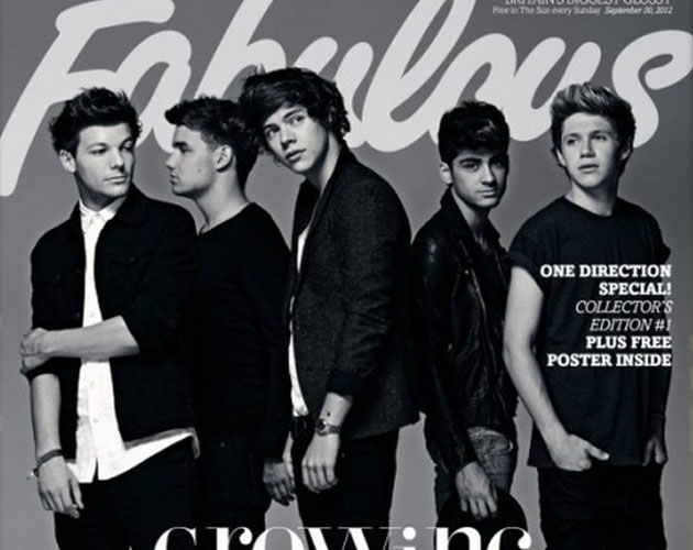 Más fotos de los One Direction en la revista Fabulous