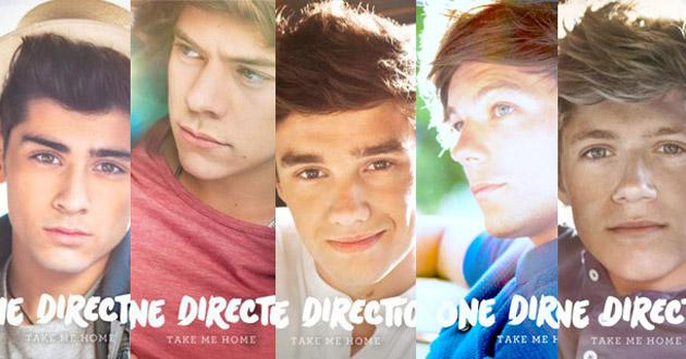 Los chicos de One Direction tienen portadas individuales de Take Me Home