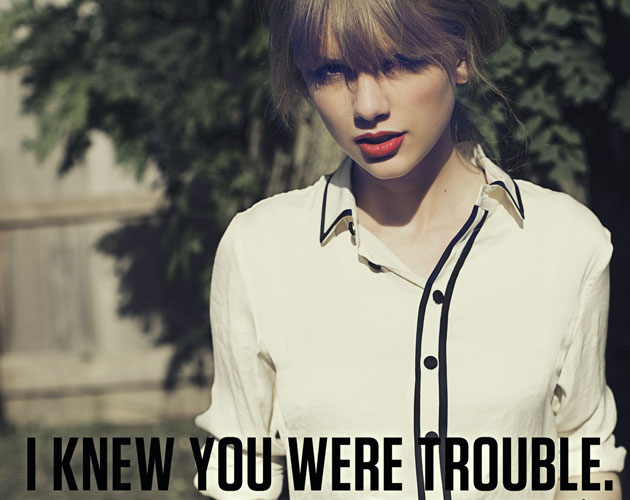 Adelanto de 'I Knew You Were Trouble' de Taylor Swift