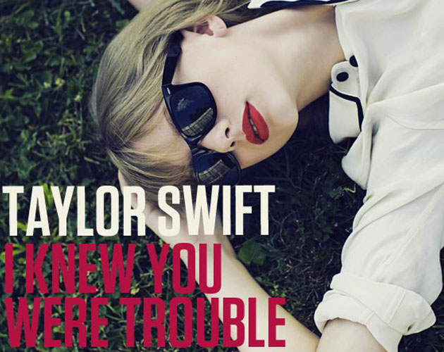 Ya podemos escuchar 'I Knew You Were Trouble' de Taylor Swift