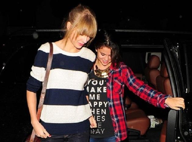Selena Gómez, Taylor Swift y Miley Cyrus graban una canción juntas